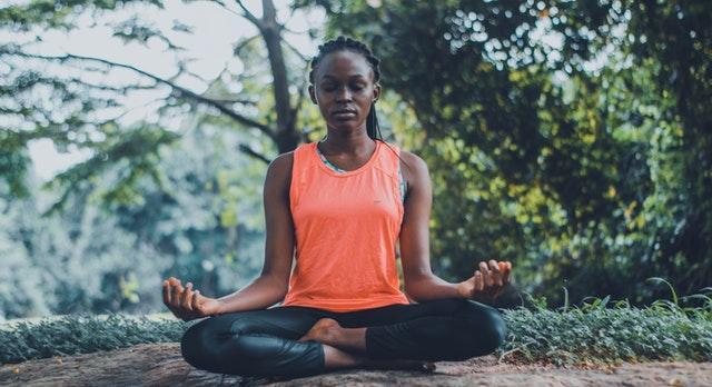 Texter och för forum för meditation